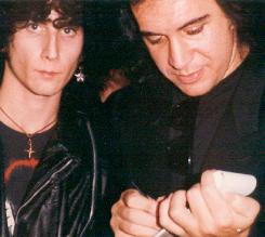 Scott with Gene